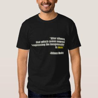 After Silence T-shirt
