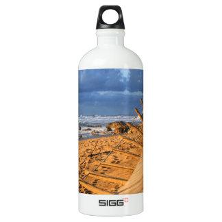 After storm beach... aluminum water bottle