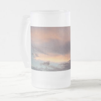 After Storm Frosted 16 oz Frosted Glass Mug
