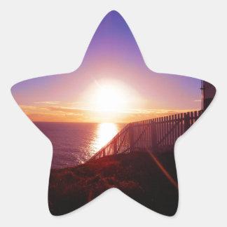 After Sunrise Star Sticker