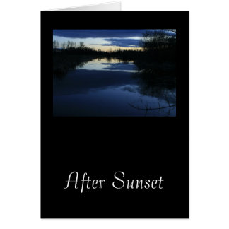 After Sunset Cards