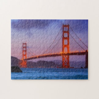 After sunset out at Baker Beach Jigsaw Puzzle