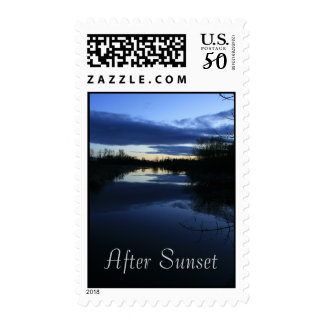 After Sunset Postage