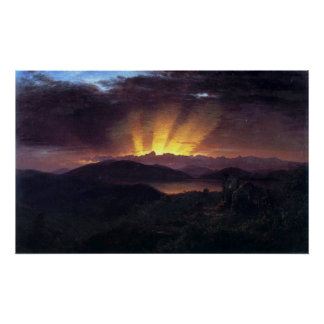 After the annealing by Frederic Edwin Church Print
