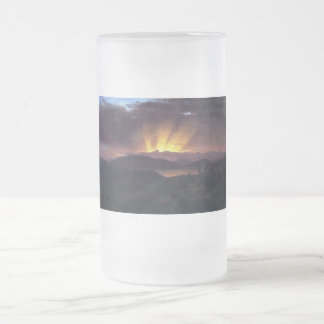 After the annealing by Frederick Edwin Church Frosted Glass Beer Mug