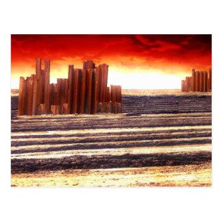 After The Apocalypse Postcard