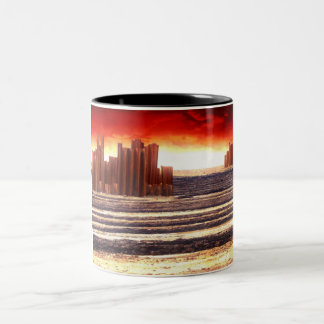 After The Apocalypse Two-Tone Coffee Mug