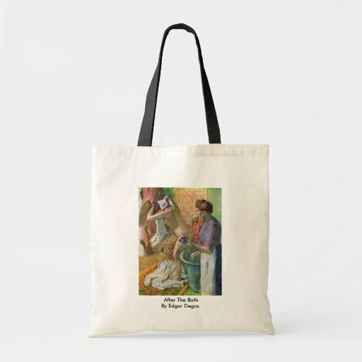After The Bath By Edgar Degas Budget Tote Bag