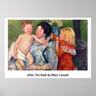 After The Bath By Mary Cassatt Print
