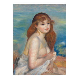 After the Bath by Pierre-Auguste Renoir Card