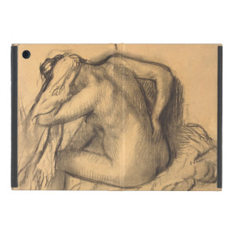 After the Bath Woman Drying Hair by Edgar Degas Case For iPad Mini
