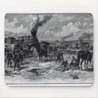 After the Battle of Seven Pines Mouse Pad