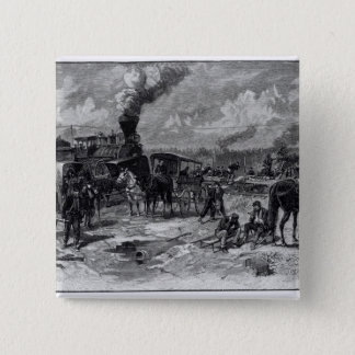 After the Battle of Seven Pines Pinback Button