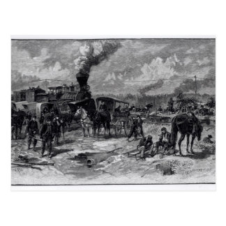 After the Battle of Seven Pines Postcard