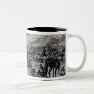 After the Battle of Seven Pines Two-Tone Coffee Mug