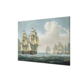 After the Battle of Trafalgar, October 21st, 1805, Stretched Canvas Print
