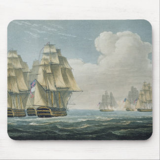 After the Battle of Trafalgar, October 21st, 1805, Mouse Pad