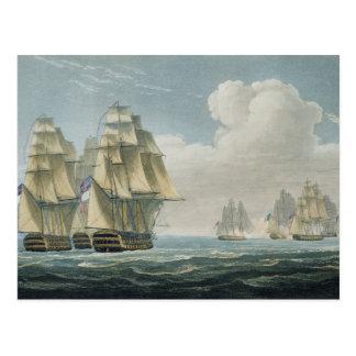 After the Battle of Trafalgar, October 21st, 1805, Postcard