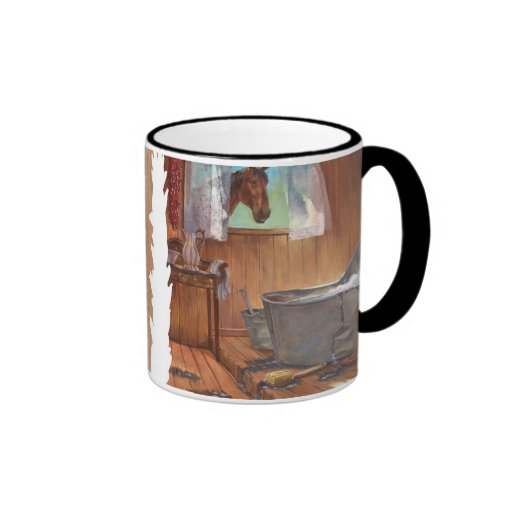 After the Cattle Drive Mug