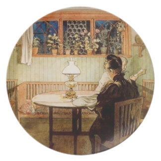 After the Children Have Gone to Bed Dinner Plates