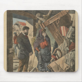 After the disaster fro  'Le Petit Journal' Mouse Pad