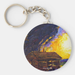 After the Dust Clears Prairie Keychain