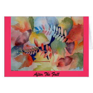 """After The Fall"" Stationery Note Card"