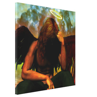 After The Fall Fantasy Gothic Art Canvas Print