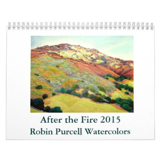 After the Fire 2015 Robin Purcell Watercolors Wall Calendars