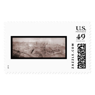 After The Fire Boston Photo 1872 Stamps