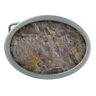 After The Fire Oval Belt Buckle