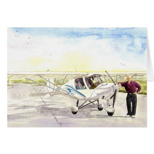 'After the Flight' Card