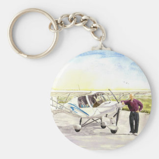 'After the Flight' Keychain