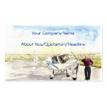 'After the Flight' Profile Card Double-Sided Standard Business Cards (Pack Of 100)