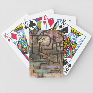 After The Flood by Paul Klee Bicycle Playing Cards