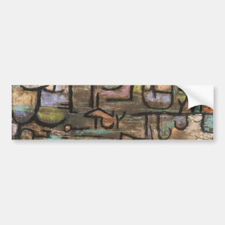 After The Flood by Paul Klee Bumper Sticker