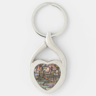 After The Flood by Paul Klee Keychain