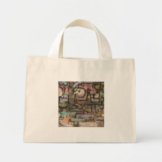 After The Flood by Paul Klee Mini Tote Bag