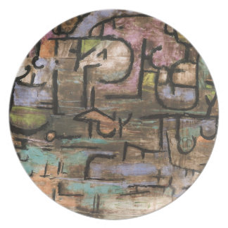 After The Flood by Paul Klee Party Plate