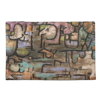 After The Flood by Paul Klee Travel Accessories Bags