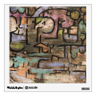 After The Flood by Paul Klee Wall Decal