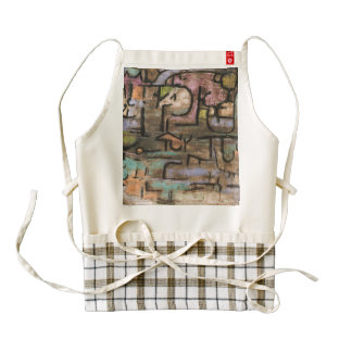 After The Flood by Paul Klee Zazzle HEART Apron