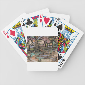 After the floods by Paul Klee Bicycle Playing Cards