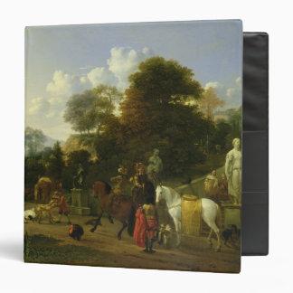 After the Hunt, c.1644 Binder