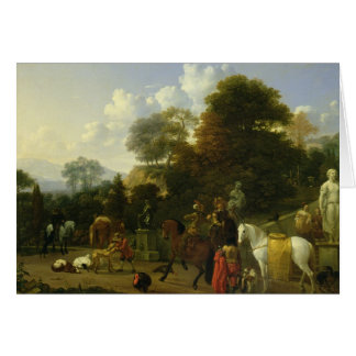 After the Hunt, c.1644 Card