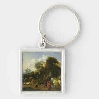 After the Hunt, c.1644 Keychain