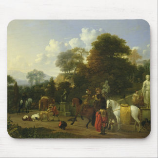 After the Hunt, c.1644 Mouse Pad