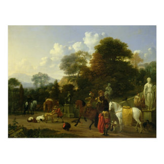 After the Hunt, c.1644 Postcard