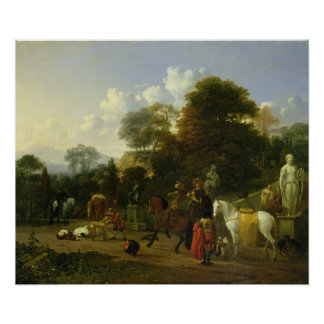 After the Hunt, c.1644 Poster