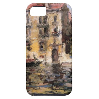 After the Rain by William Merritt Chase iPhone SE/5/5s Case